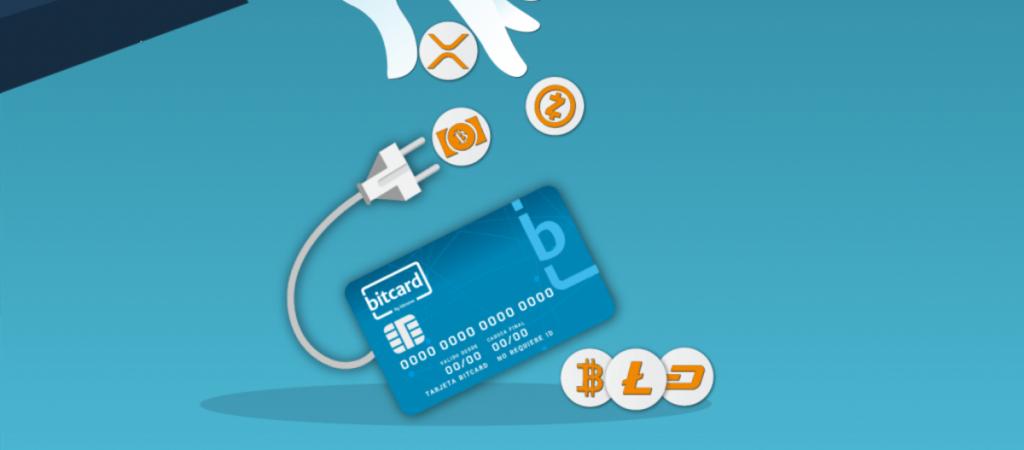 Tarjeta Bitcard de Bitnovo