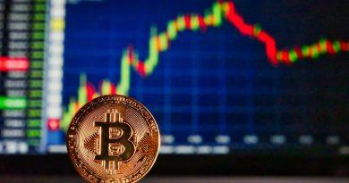 Caída en el precio de las criptomonedas