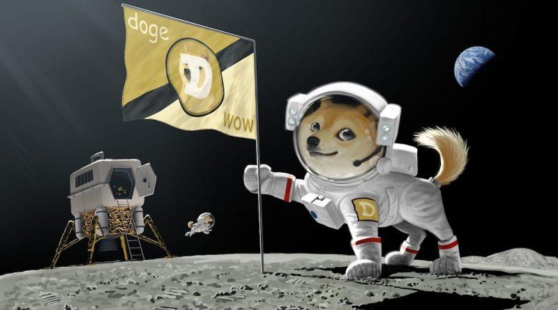 Dogecoin para la misión lunar de SpaceX