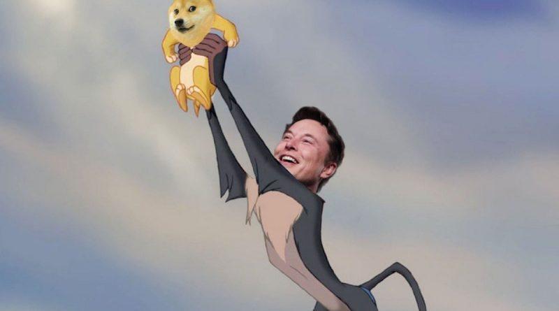 Elon Musk y Dogecoin (meme)