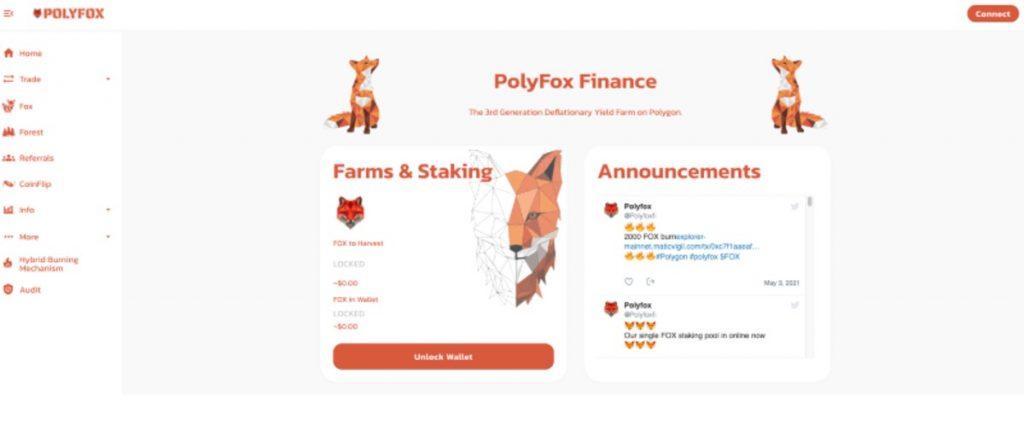 Polyfox, un ejemplo de DApp construida sobre Polygon (MATIC)