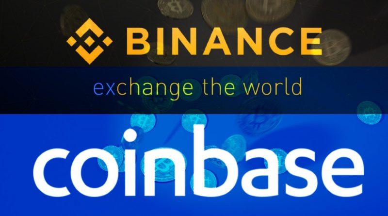 Binance comparado con Coinbase