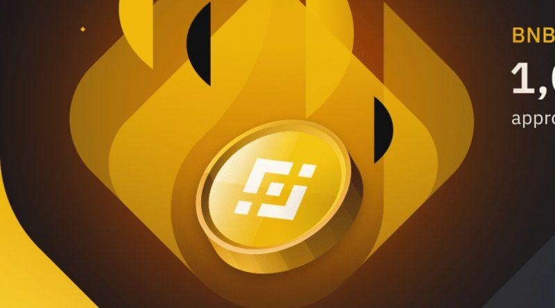 Binance Coin (BNB) quema de tokens
