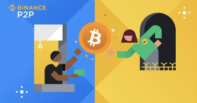 Binance P2P para enviar Bitcoin (BTC) sin comisión